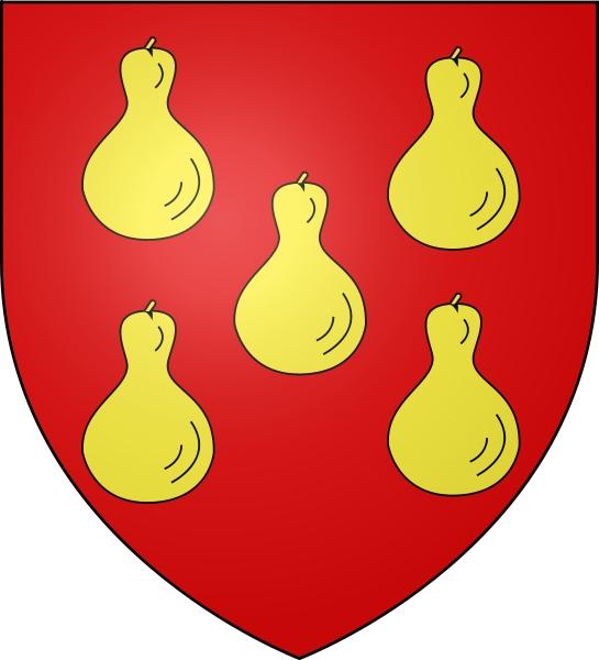 Logo du blason de la ville de Gourdon en Quercy(46)